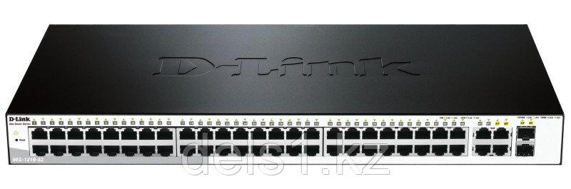 Настраиваемый коммутатор D-link DES-1210-52