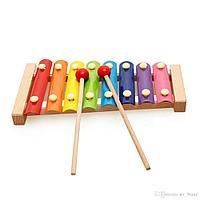 Металлофон детский (ксилофон металлический)