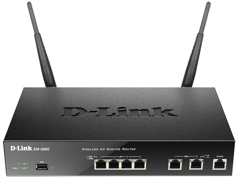 Межсетевой экран D-Link DSR-500AC/RU/A1A