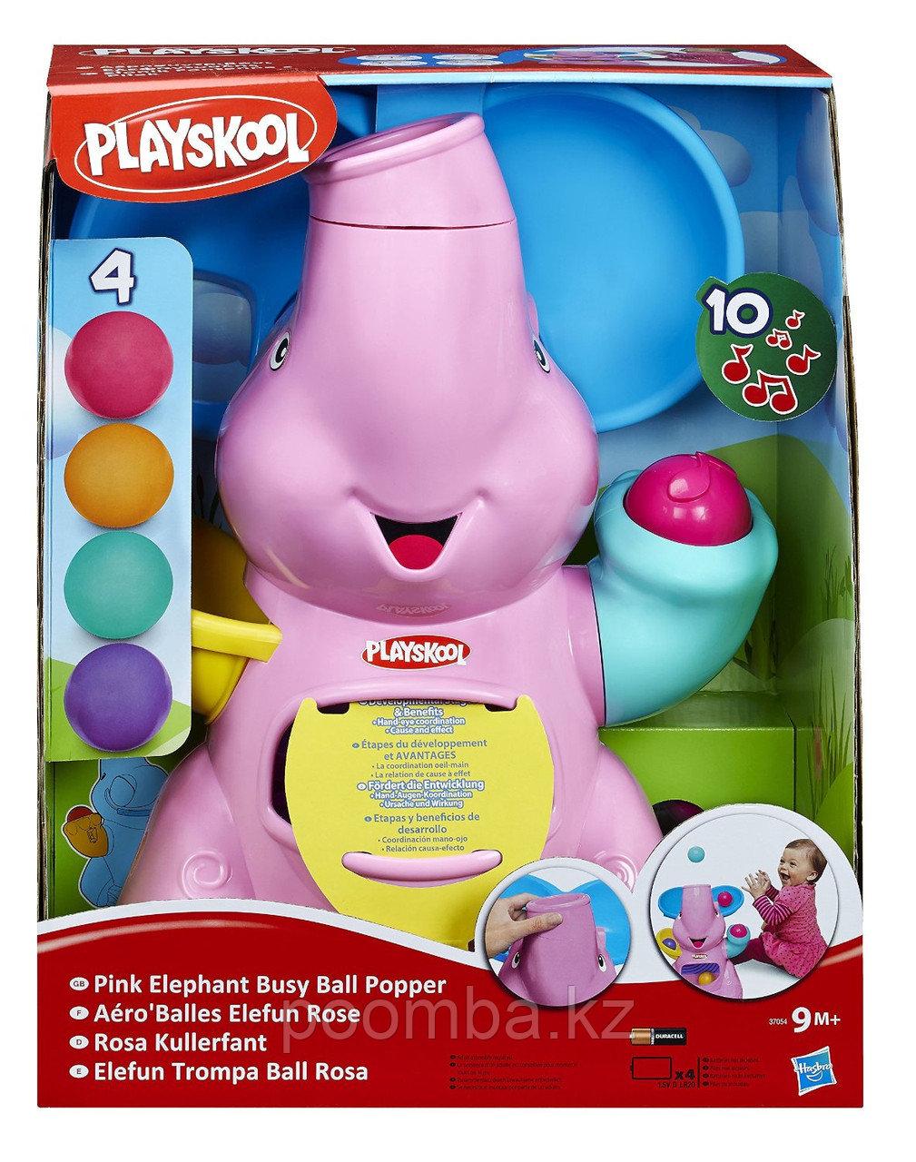 Hasbro Воздушный фонтан Слоник розовый