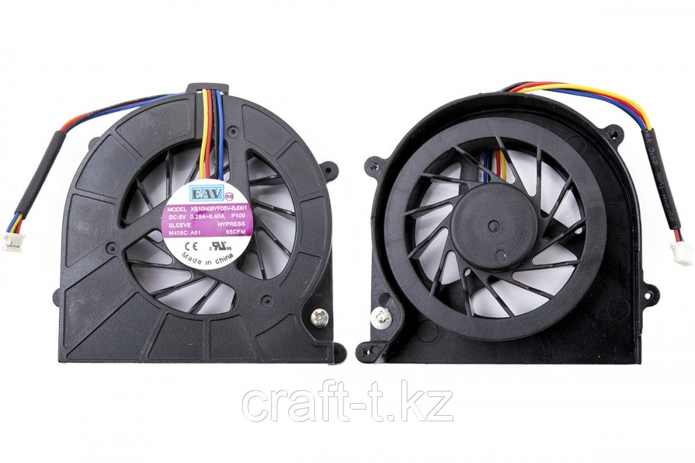 Система охлаждения (Fan), для ноутбука Toshiba Sattellite C600 / C606, 4pin,