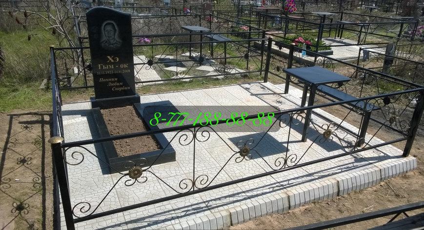Тротуарная плитка на могилу, фото 2