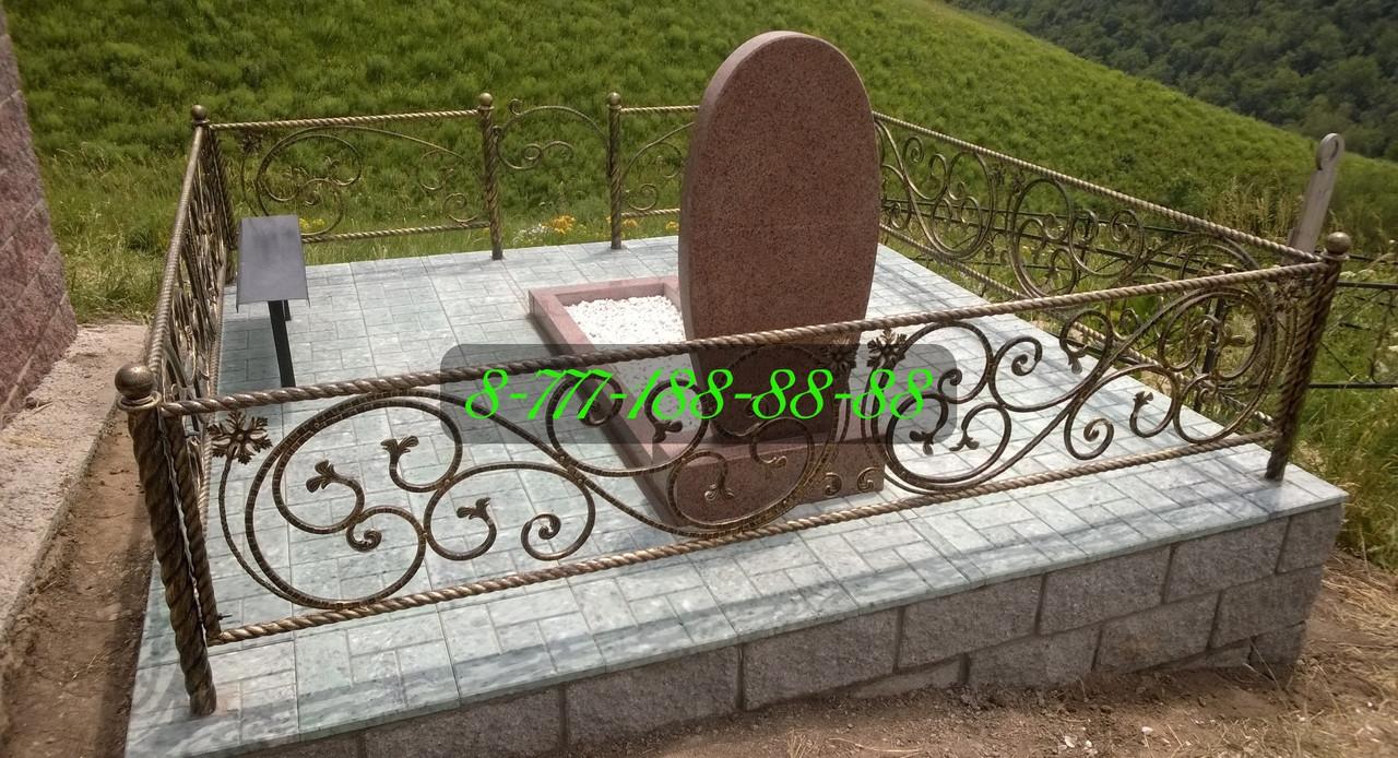 Благоустройство мест захоронения на кладбище