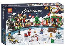 Конструктор Bela 11094 Новогодний экспресс аналог LEGO Creator 10254 Рождественский поезд