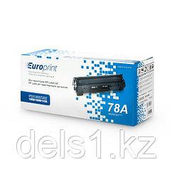 Картридж, Europrint, EPC-278A, Для принтеров HP LaserJet Pro P1566/1606/M1536, 2100 страниц.