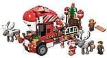 Конструктор bela 11083 новогодний грузовик аналог Lego Creator Рождество Грузовик Санты, фото 2