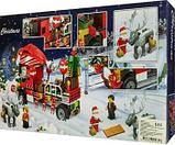 Конструктор bela 11083 новогодний грузовик аналог Lego Creator Рождество Грузовик Санты, фото 3