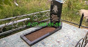 Тротуарная плитка и брусчатка укладка на кладбище, фото 2
