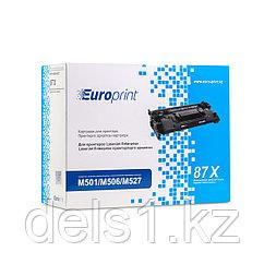 Картридж, Europrint, EPC-287X, Для принтеров HP LaserJet Enterprise M501/M506/M527, 18000 страниц.