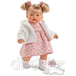 LLORENS Кукла малышка Ариана 33 см, в белой курточке