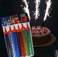 Фейерверк для торта, 10см