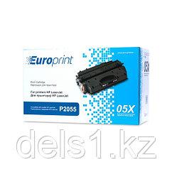 Картридж, Europrint, EPC-505X, Для принтеров HP LaserJet P2055, 6500 страниц.