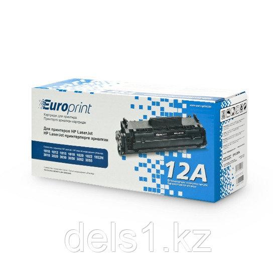 Картридж, Europrint, EPC-2612A, Для HP 1010/1012/1015/1020/3015/3020/ 3030/ 3050/3052/3055/M1005/1018/1022