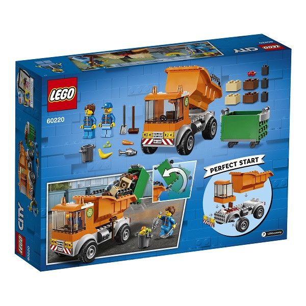 LEGO CITY Транспорт: Мусоровоз 60220