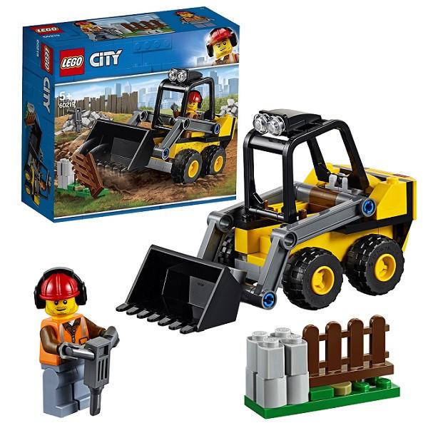 LEGO CITY Транспорт: Строительный погрузчик 60219