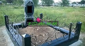 Мусульманская могила на кладбище, фото 2