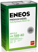Моторное масло ENEOS Premium Diesel 5W-40 4литра