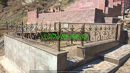 Благоустройство мусульманской могилы, фото 2