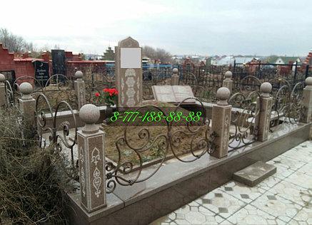 Мусульманская могила строительство на кладбище, фото 2