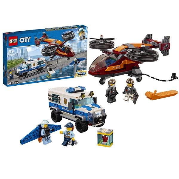 LEGO CITY Воздушная полиция: Кража бриллиантов