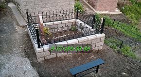 Строительство мусульманских могил на кладбище, фото 2