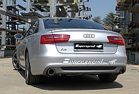 Выхлопная система Supersprint на Audi A6 C7 Typ 4G Quattro