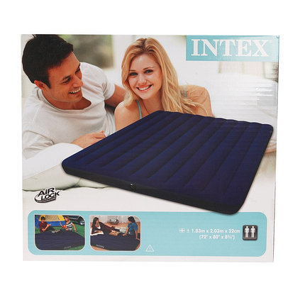 Матрас надувной INTEX 183х203х22 см. (68755), фото 2