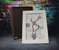 """Коробка с искусственными цветами """"Картина"""" 36,5*25,5*11, фото 1"""