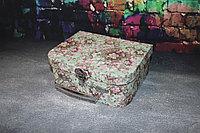 """Коробка чемодан """"Нежность"""" Бирюза""""20*16*7,5, фото 1"""
