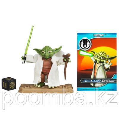Фигурка магистра Йоды (Yoda), 5см, из серии 'Star Wars' (Звездные войны)