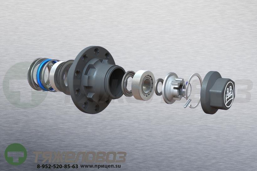 Ступица колеса в сборе D=225х175,5 мм BPW ECO 09.801.06.50.0