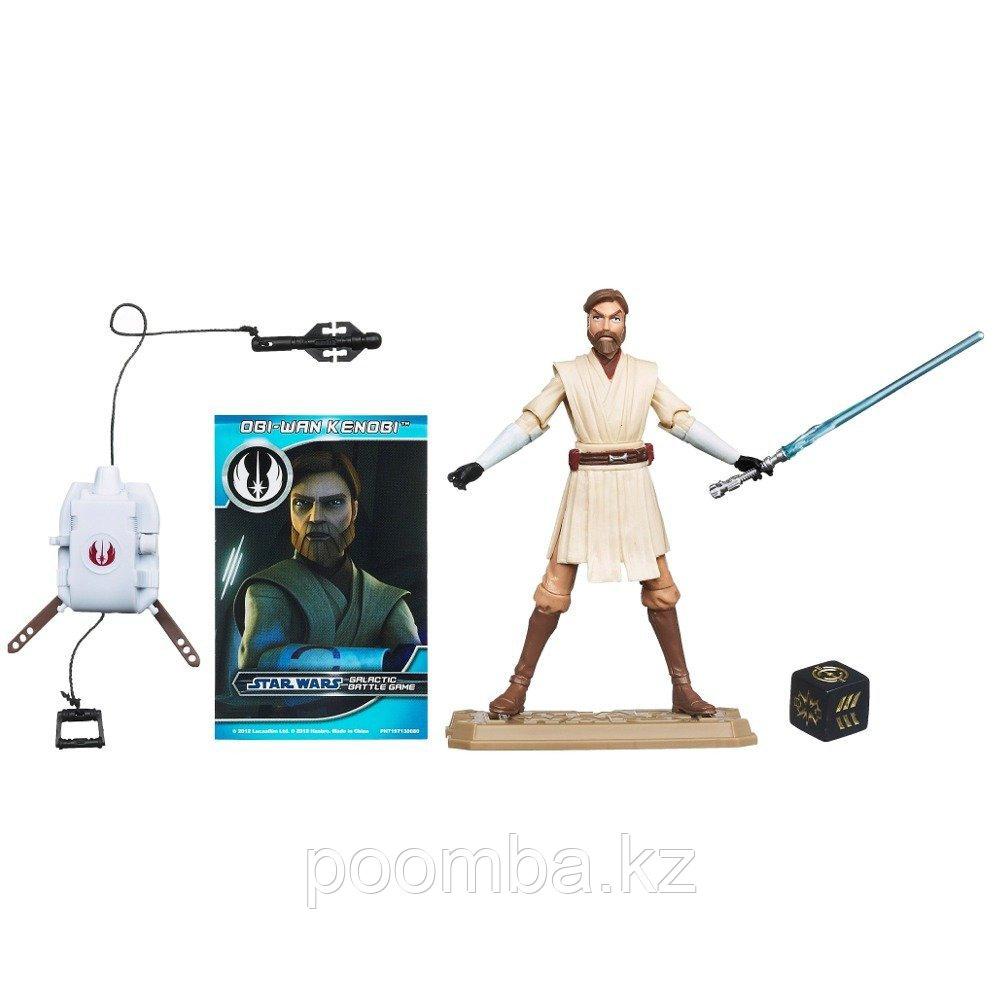 Фигурка 'Оби-Ван Кебоби' (Obi-Wan Kenobi CW12), 10см, из серии 'Star Wars' (Звездные войны)