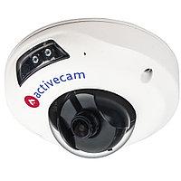 Бюджетная миниатюрная купольная вандалозащищенная 1.3МпIP-камера с ИК-подсветкой. 1/3'' CMOS матрица