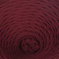 Пряжа трикотажная лицевая 100м/330гр, ширина нити 7-8 мм (Бордовый)
