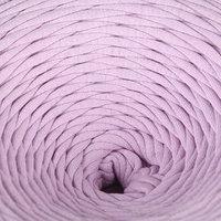 Пряжа трикотажная лицевая 100м/330гр, ширина нити 7-8 мм (Лиловый)