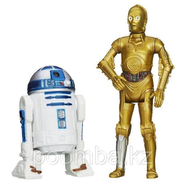 """Фигурки для особых миссий """"Звездные войны"""" - C-3PO и R2D2"""
