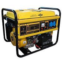 Бензиновый генератор 6кВт 220В электростартер Mateus 6.5 GFE