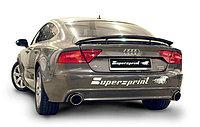 Выхлопная система Supersprint на Audi A7