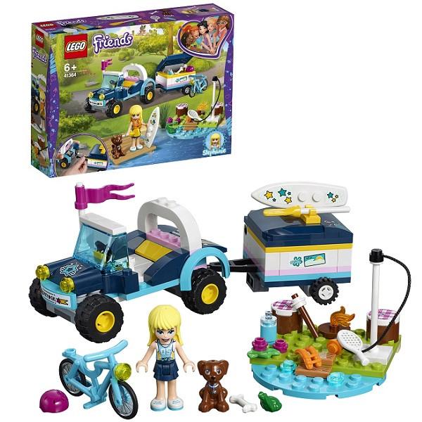 Лего Подружки 41364 Конструктор Багги с прицепом Стефани