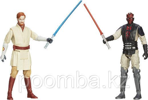 """Фигурки для особых миссий """"Звездные войны"""" - Оби-Ван и Дарт Мол"""