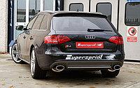 Выхлопная система Supersprint на Audi A4 B8 S4 Quattro