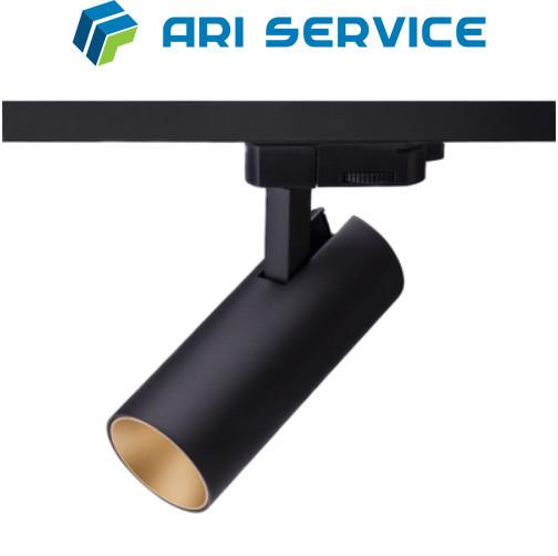 Дизайнерский Трековый LED Спот, Открытого монтажа.
