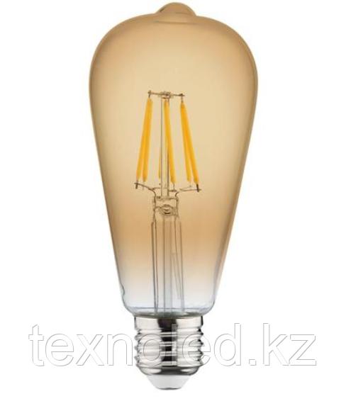 Светодиодная лампа Ретро  Led ST64 6W