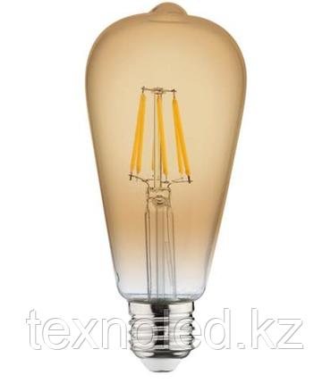 Светодиодная лампа Ретро  Led ST64 6W, фото 2