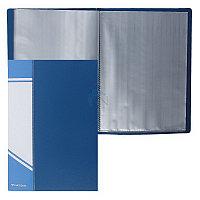 Папка А5 20 файлов синяя Информат