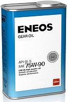 Трансмиссионное масло ENEOS Gear Oil 75W-90 1литр
