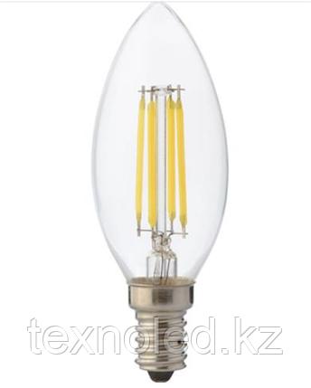 Лампа филомент  Е14/4W, фото 2