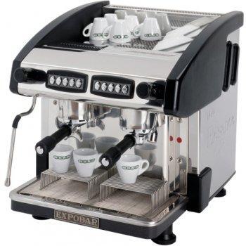 Кофемашина Expobar New Elegance Mini Control 2 GR Black (низкие группы)