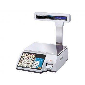 Весы торговые CAS CL5000J-6IP TCP-IP