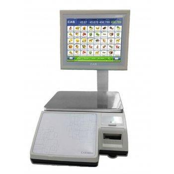 Весы торговые CAS CL7000-15S TCP-IP